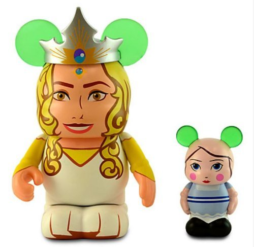 Disney Oz the Great and Powerful Series Vinylmation Figure Set - 3'' Glinda with 1 1/2'' China Girl