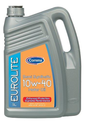 Comma EUL5L 5L Eurolite Semi Synthetic 10W40 Motor Oil