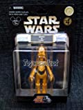 Star Wars Star Tours Disney Action Figures - Goofy as C-3PO