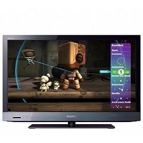 Sony BRAVIA KDL32EX520 32-Inch 1080p LED HDTV, Black