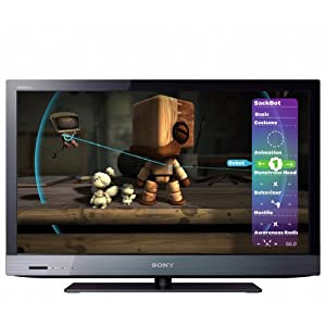 Sony BRAVIA KDL40EX520 40-Inch 1080p LED HDTV, Black (2011 Model)