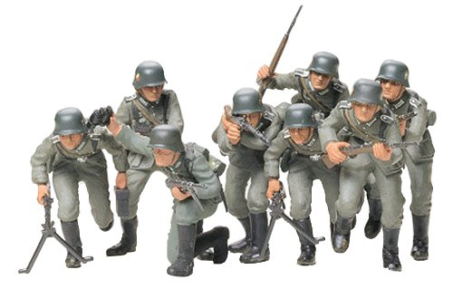 Tamiya Models German Infantry Assault Troops Model Kit - 1
