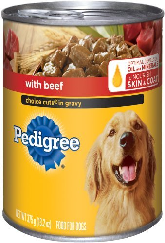Pedigree Variety Beef/Chicken Dog Food 24 Can / 22 Oz Each