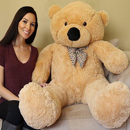 Yesbears 5 Feet Giant Teddy Bear - Sun Tan (Big Bear Chair compare prices)