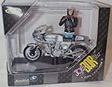 Solido joe bar team silver ducati 900 SS bike and figurine 1.18 scale diecast model