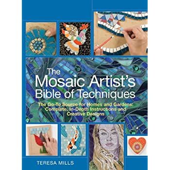Set A Shopping Price Drop Alert For The Mosaic Artist's Bible of Techniques: The Go-To Source for Homes and Gardens: Complete, In-Depth Instructions and Creative Designs