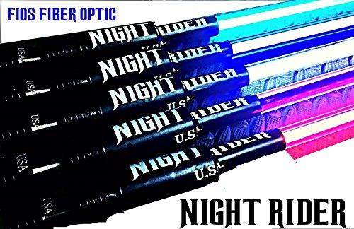 Lighted Led Whip Flag Fios Fiber Optic Night Rider Usa