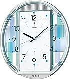 SEIKO CLOCK (セイコークロック) 掛け時計 ウエーブシンフォニー 電波時計 ツイン・パ AM238S