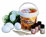 Ideen für Ostergeschenke Ostern basteln - Hobby Line - Magic Marble Marmorierfarben Set Ostern