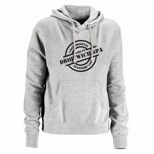Made In Droitwich Spa Mens Hoodie, Size X-Large
