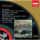 Wesendonck-Lieder/Alto Rhap/Liby Christa/Klemperer;O...
