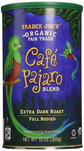Trader Joe's Cafe Pajaro 100% Arabica Roasted Whole Bean Coffee (13 Oz.)