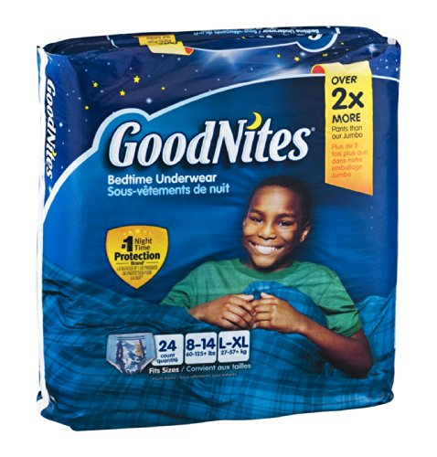 GoodNites Bedtime Underwear Boys L-XL 24 CT (Pack of 3) - 1