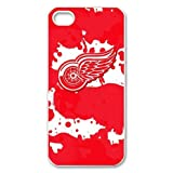 iPhone 5 protector Hard shell with Detroit Red Wings logo