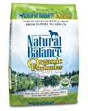 Natural Balance Organic Formula Dry Dog Food, 12.5-Pound Bag