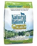 Natural Balance Organic Formula Dry Dog Food, 12.5-Pound Bag