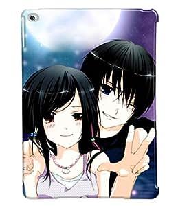 Fuson Love Couple Back Case Cover for APPLE IPAD AIR 2 - D3638
