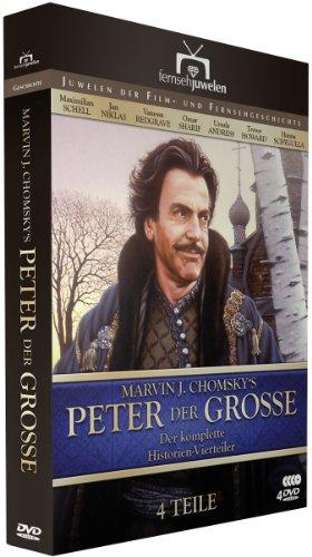Peter der Große - Der komplette Vierteiler (4 DVDs) - Fernsehjuwelen