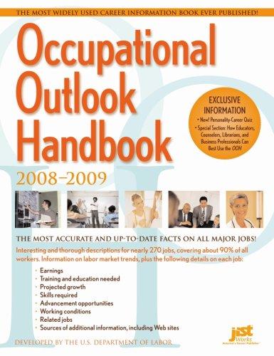 Occupational Outlook Handbook, 2008-2009 (Occupational Outlook Handbook (Jist Works))