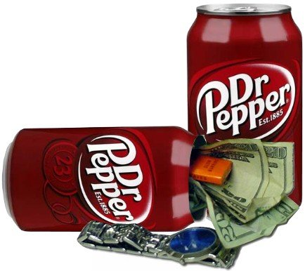Dr.Pepper Diversion Safe Can