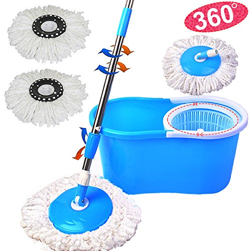 Buy Magic Microfiber Spin Mop Now!
