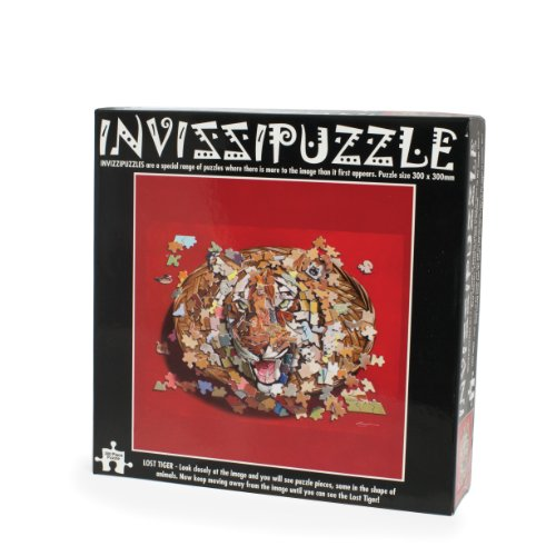 Tiger Invisible Jigsaw Puzzle
