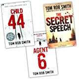 Tom Rob Smith 3 Books Collection Pack Set RRP: £32.97 (The Secret Speech, Child 44, Agent 6) Tom Rob Smith