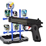 2 in 1 Foam Projectil Dart & Water Ball Hand Gun Blaster Toys with Target, SpringPowered Pistol