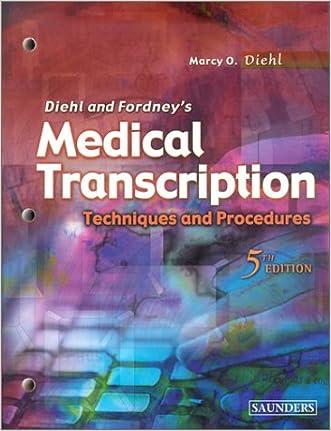 Medical Transcription: Techniques and Procedures