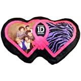 """1 D One Direction Heart Shaped 18 """" Bed Throw Pillow Decorative Collectible Cushion"""