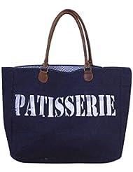 Leacan Bags Tote Bag (Blue) - B01B7QT0J2