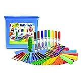 Kit Crayola Art Tub 75 piezas