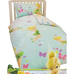 Childrens/Kids Disney TinkerBell Quilt/Duvet Cover Bedding Set