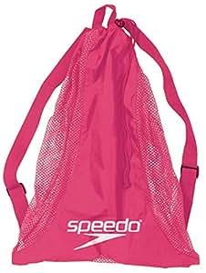 Speedo Deluxe Mesh Equipment Bag, Pink