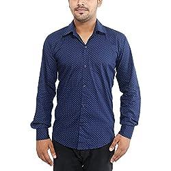 Oshano Men's Designer Cotton Shirt