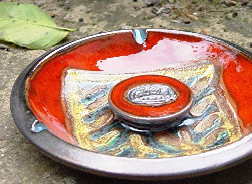 Ceramics and Pottery Ash Tray, Smoking Tray, Kitchen Decor