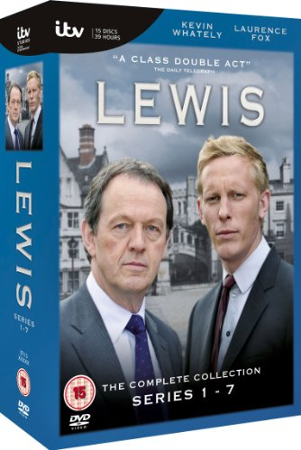 Lewis The Complete Collection Series1-7 (オックスフォードミステリー ルイス警部 シリーズ1-7 コンプリートボックス)[PAL-UK]