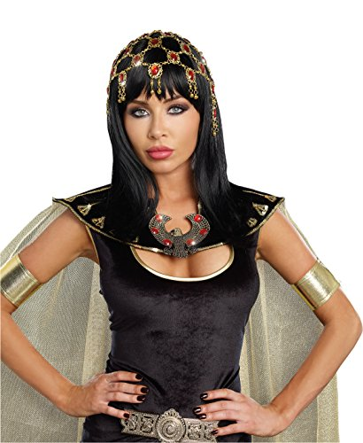 Dreamgirl Women's Sexy Costume Goddess Accessory, Dazzling Ruby Headpiece