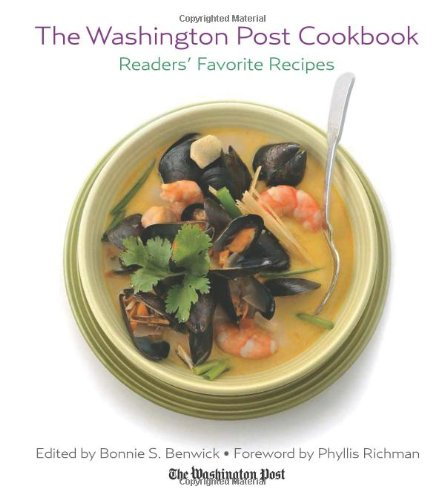 Washington Post Cookbook back-235536