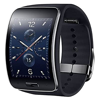 Samsung MAIN-96577 Galaxy Gear S R750 Smart Watch, Black