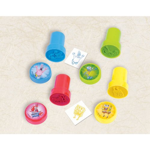 Spongebob Squarepants Self-Inking Stamp Stationery (1 per package)