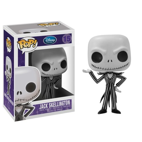 518PmYwbuDL Buy  Funko POP Disney: Jack Skellington Vinyl Figure