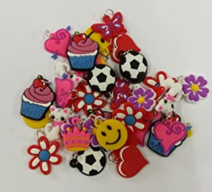 Pack de 20 de charme pour Rubberband Loom Bracelets