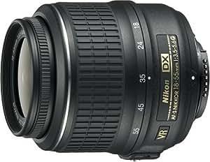 Nikon 18 55 mm / F 3,5 5,6 G DX VR Objectifs 18 mm
