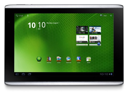 Acer Iconia Tab A501-10S32u 10.1-Inch HD Tablet (Aluminum Metallic)