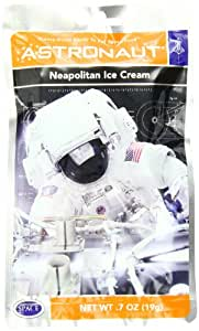 American Outdoor Products Astronaut Neapolitan Ice Cream, 7 oz,  (Pack of 10)