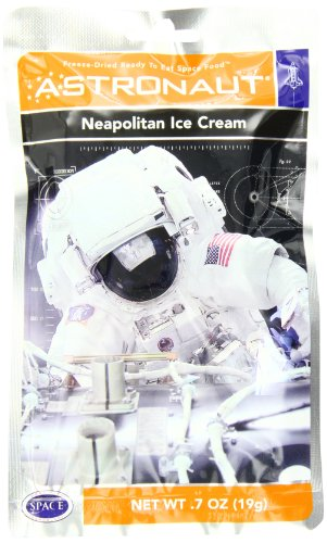 American Outdoor Products Astronaut Neapolitan Ice Cream, 7 oz,  (Pack of 10) (Astronaut Ice Cream Bulk compare prices)