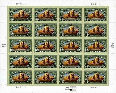 United States Postage 20 x 37 Cent U.S. Postage Stamps