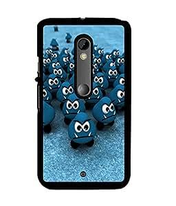 Fuson 2D Printed Cartoon Designer back case cover for Motorola Moto X Play - D4461