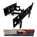 Mount-It! LCD TV, LED TV Wall Mount Bracket with Full Motion Swing Out Tilt & Swivel Articulating Dual Arm for... by Mount-It!